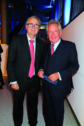 Manfred Braun und Dr. Stephan Holthoff-Pförtner