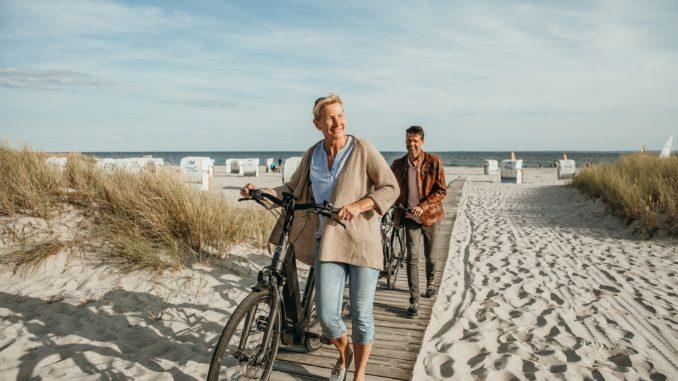 Fahrrad fahren. Foto: tsg Grömitz