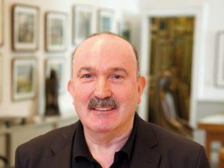 Ergün Özdemir-Karsch, Inhaber der Galerie Nierendorf. Foto: Galerie Nierendorf