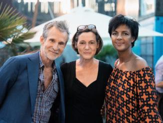 Ulrich Matthes, Anne Leppin und Dennenesch Zoudé (v. l. n. r.)