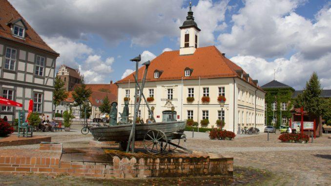 Rathaus in Angermünde, Foto Alena Lampe