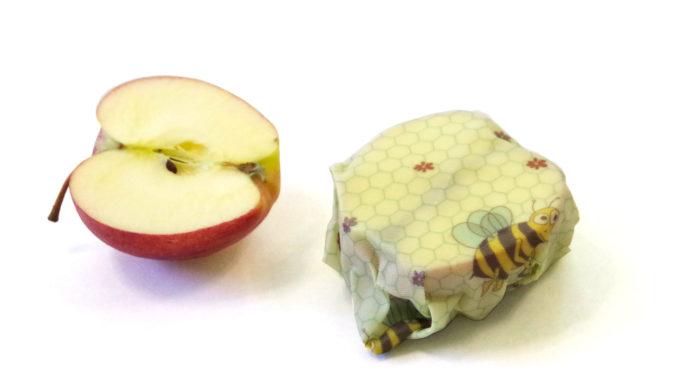 Apfel & Biene. Fotos: beeskin